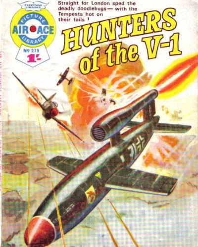 Cover for Air Ace Picture Library (IPC, 1960 series) #279