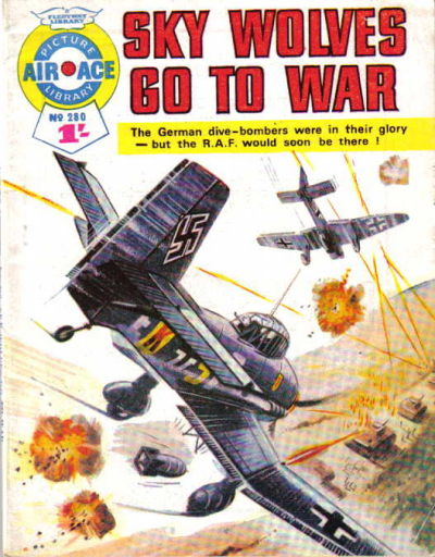 Cover for Air Ace Picture Library (IPC, 1960 series) #280