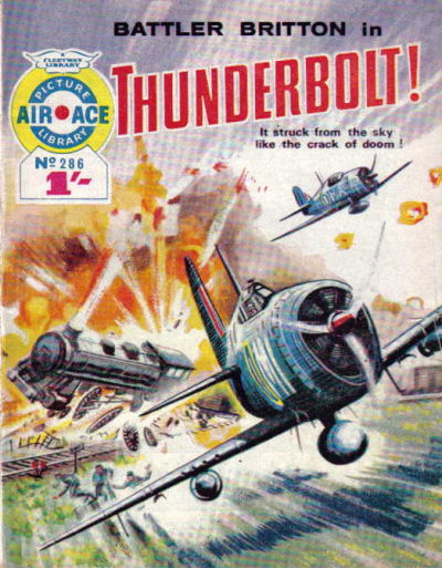 Cover for Air Ace Picture Library (IPC, 1960 series) #286