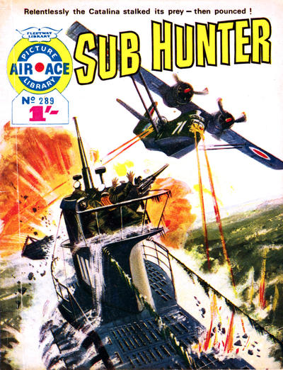Cover for Air Ace Picture Library (IPC, 1960 series) #289