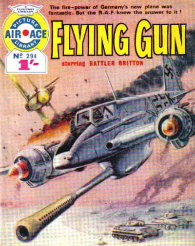 Cover for Air Ace Picture Library (IPC, 1960 series) #294