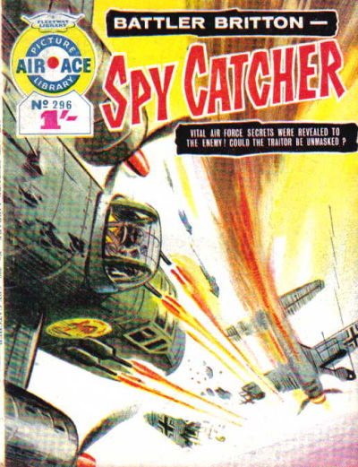 Cover for Air Ace Picture Library (IPC, 1960 series) #296