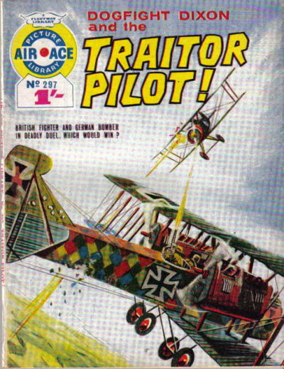 Cover for Air Ace Picture Library (IPC, 1960 series) #297