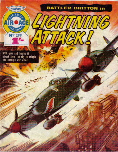 Cover for Air Ace Picture Library (IPC, 1960 series) #299