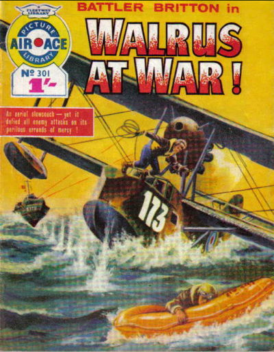 Cover for Air Ace Picture Library (IPC, 1960 series) #301