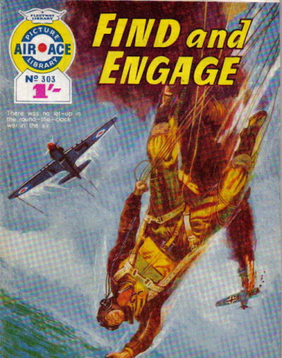 Cover for Air Ace Picture Library (IPC, 1960 series) #303