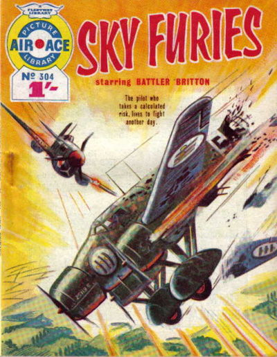 Cover for Air Ace Picture Library (IPC, 1960 series) #304