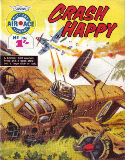 Cover for Air Ace Picture Library (IPC, 1960 series) #306