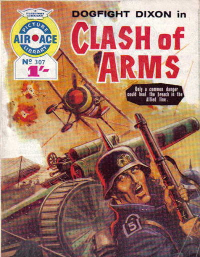 Cover for Air Ace Picture Library (IPC, 1960 series) #307