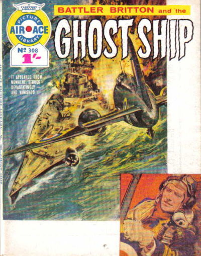Cover for Air Ace Picture Library (IPC, 1960 series) #308