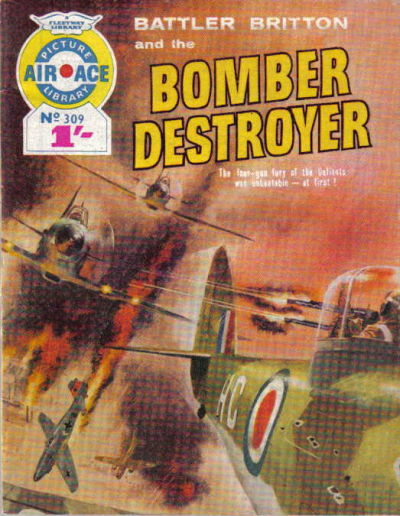 Cover for Air Ace Picture Library (IPC, 1960 series) #309