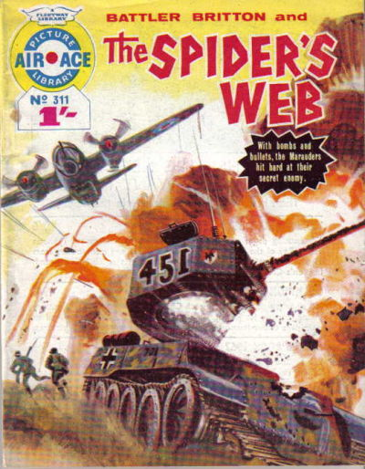 Cover for Air Ace Picture Library (IPC, 1960 series) #311