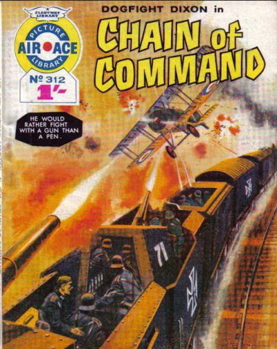 Cover for Air Ace Picture Library (IPC, 1960 series) #312