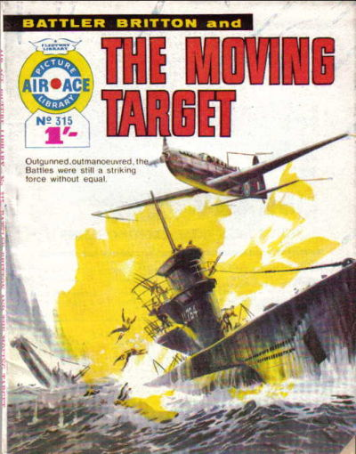 Cover for Air Ace Picture Library (IPC, 1960 series) #315