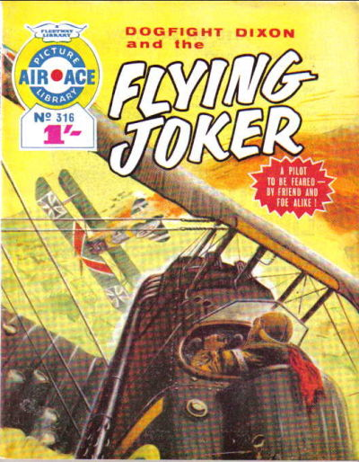 Cover for Air Ace Picture Library (IPC, 1960 series) #316