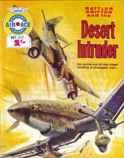 Cover for Air Ace Picture Library (IPC, 1960 series) #317