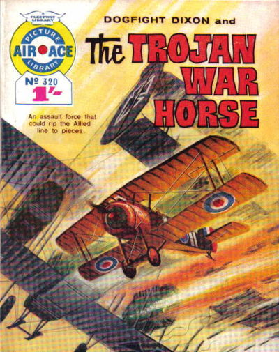 Cover for Air Ace Picture Library (IPC, 1960 series) #320