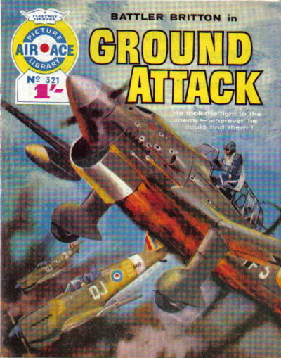Cover for Air Ace Picture Library (IPC, 1960 series) #321