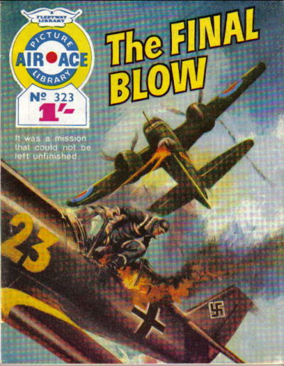 Cover for Air Ace Picture Library (IPC, 1960 series) #323
