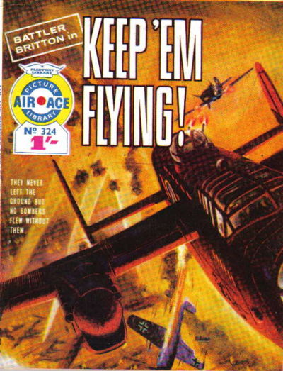 Cover for Air Ace Picture Library (IPC, 1960 series) #324