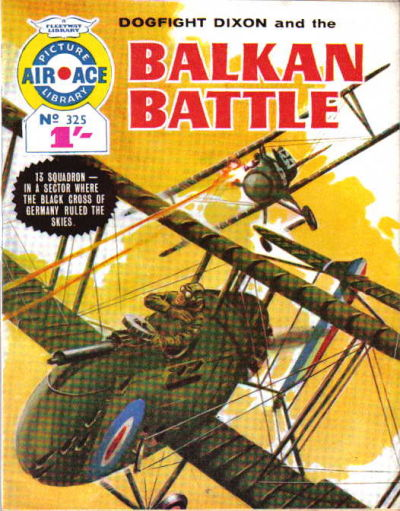 Cover for Air Ace Picture Library (IPC, 1960 series) #325