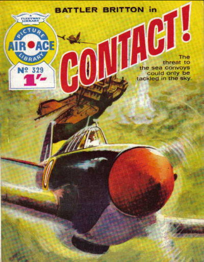 Cover for Air Ace Picture Library (IPC, 1960 series) #329