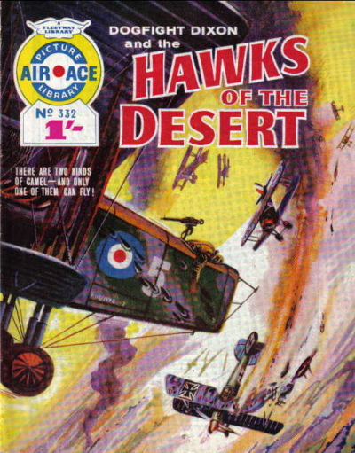 Cover for Air Ace Picture Library (IPC, 1960 series) #332