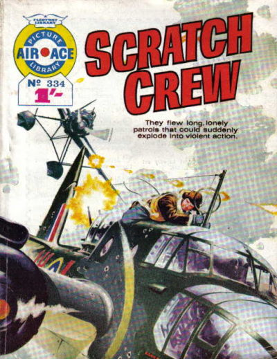 Cover for Air Ace Picture Library (IPC, 1960 series) #334