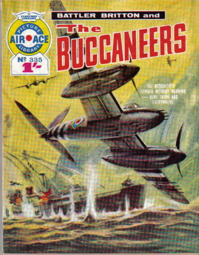 Cover for Air Ace Picture Library (IPC, 1960 series) #335