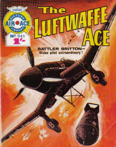 Cover for Air Ace Picture Library (IPC, 1960 series) #341