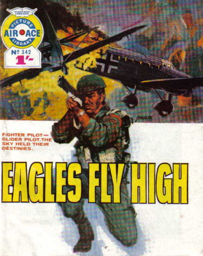 Cover for Air Ace Picture Library (IPC, 1960 series) #342