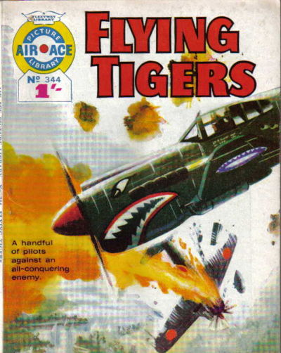Cover for Air Ace Picture Library (IPC, 1960 series) #344