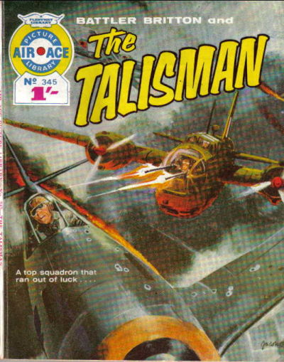 Cover for Air Ace Picture Library (IPC, 1960 series) #345