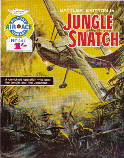 Cover for Air Ace Picture Library (IPC, 1960 series) #347