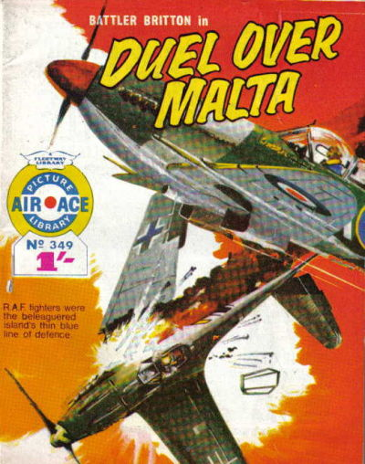 Cover for Air Ace Picture Library (IPC, 1960 series) #349