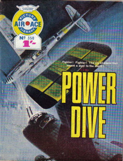 Cover for Air Ace Picture Library (IPC, 1960 series) #350