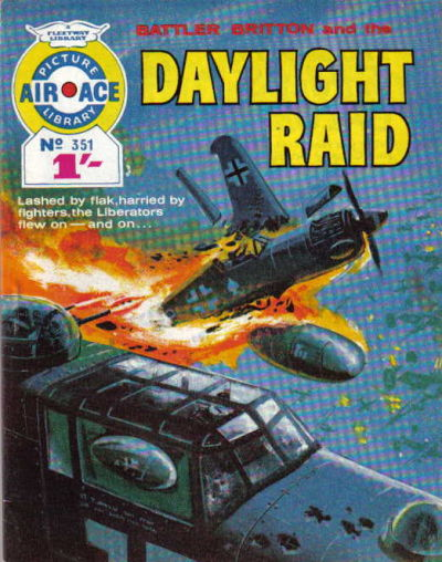 Cover for Air Ace Picture Library (IPC, 1960 series) #351