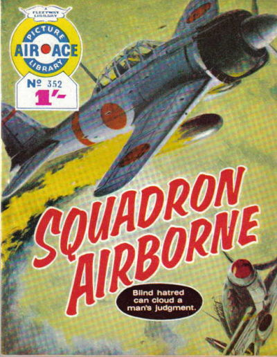 Cover for Air Ace Picture Library (IPC, 1960 series) #352