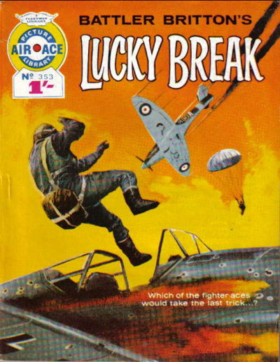 Cover for Air Ace Picture Library (IPC, 1960 series) #353