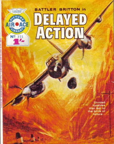 Cover for Air Ace Picture Library (IPC, 1960 series) #355