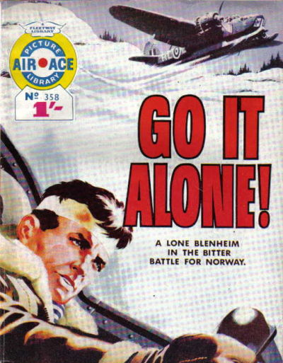 Cover for Air Ace Picture Library (IPC, 1960 series) #358