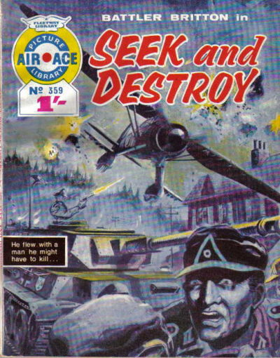 Cover for Air Ace Picture Library (IPC, 1960 series) #359