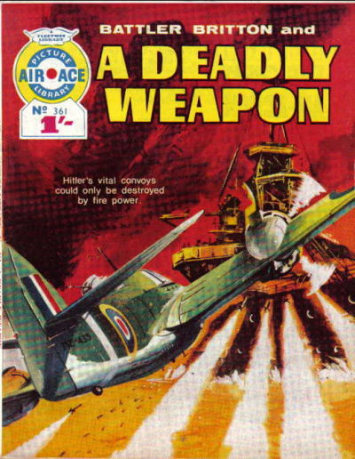 Cover for Air Ace Picture Library (IPC, 1960 series) #361