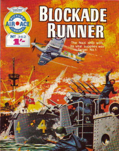 Cover for Air Ace Picture Library (IPC, 1960 series) #362