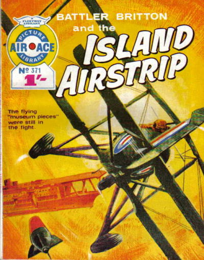 Cover for Air Ace Picture Library (IPC, 1960 series) #371