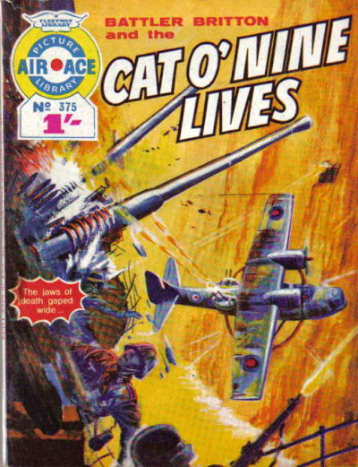 Cover for Air Ace Picture Library (IPC, 1960 series) #375