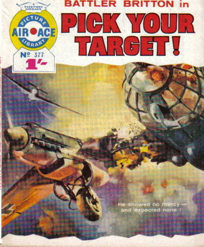 Cover for Air Ace Picture Library (IPC, 1960 series) #377