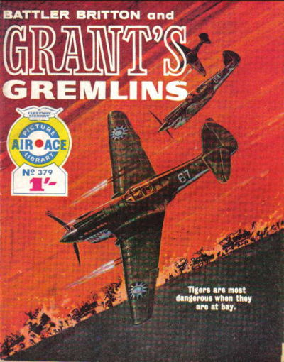Cover for Air Ace Picture Library (IPC, 1960 series) #379