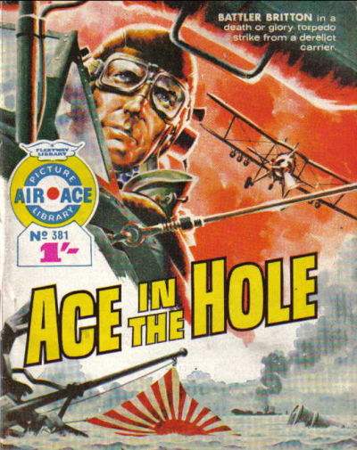 Cover for Air Ace Picture Library (IPC, 1960 series) #381