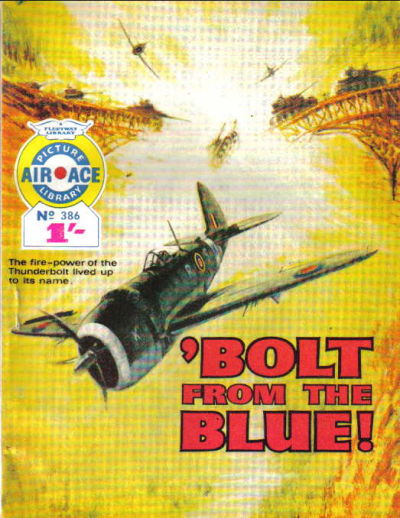 Cover for Air Ace Picture Library (IPC, 1960 series) #386